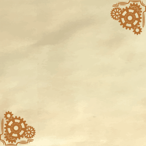 Paśnik Family Steampunk background frame